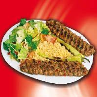 Adana Kebap Teller Pommes / frise